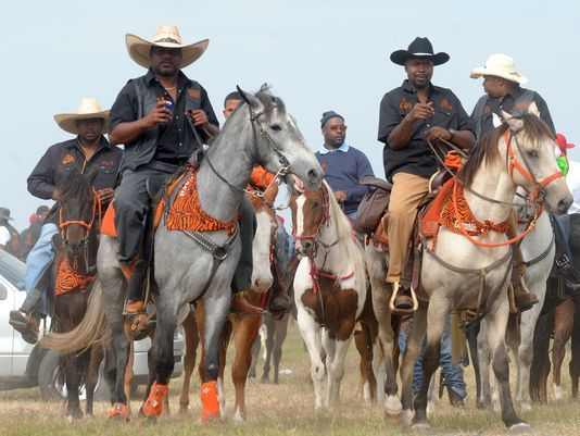 African-American cowboys in Louisiana