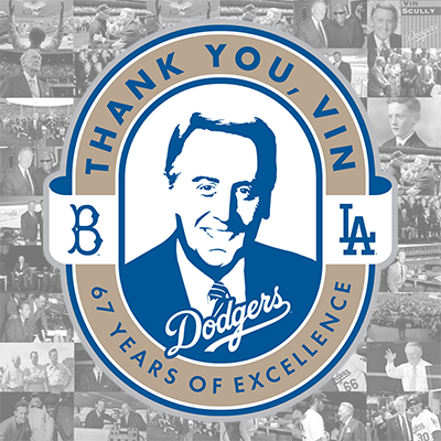 Poster for Vin Scully Day