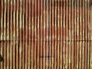 Photo of Rusty Corrugated Siding